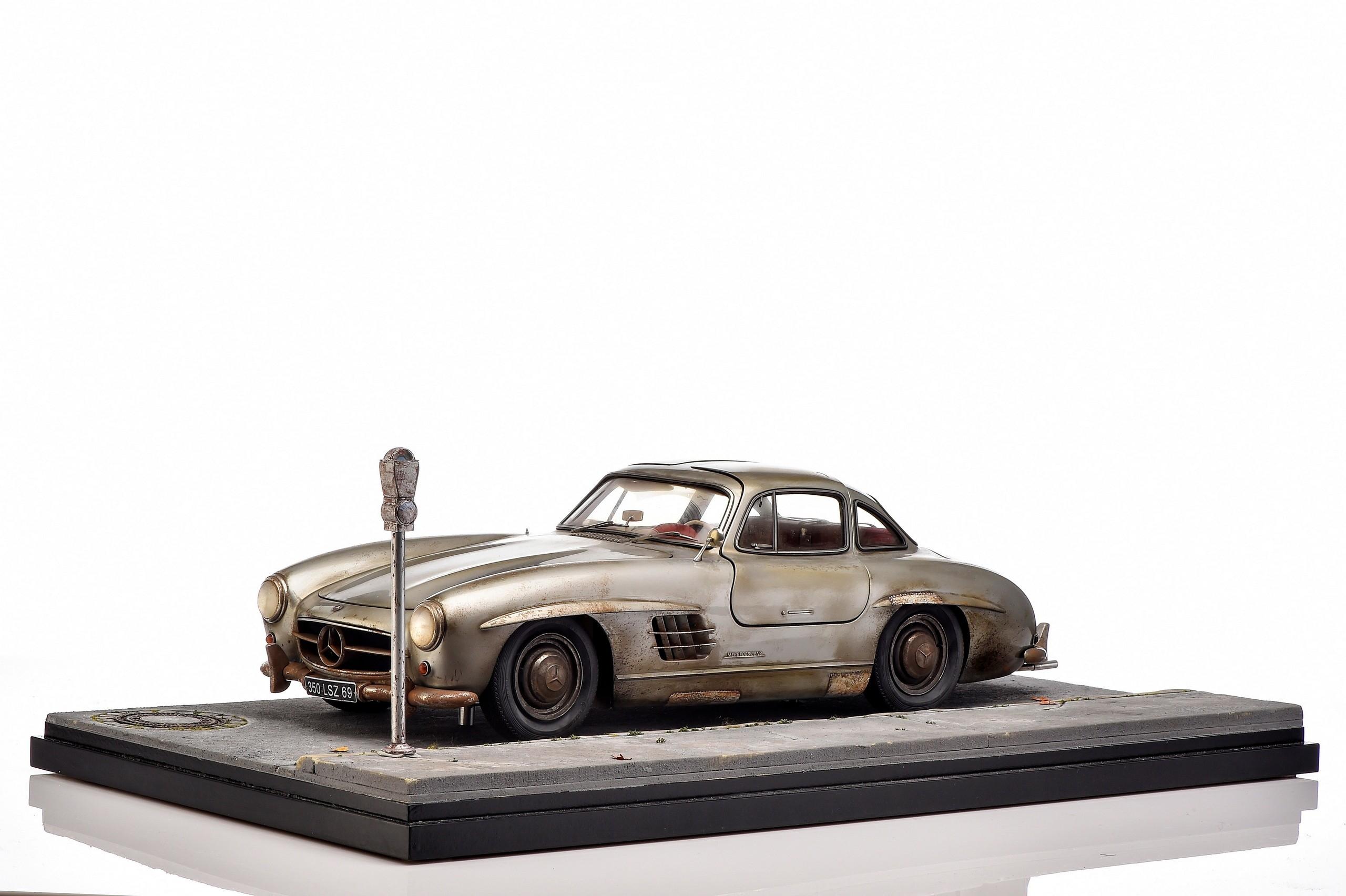 Mercedes-Benz SL modellini