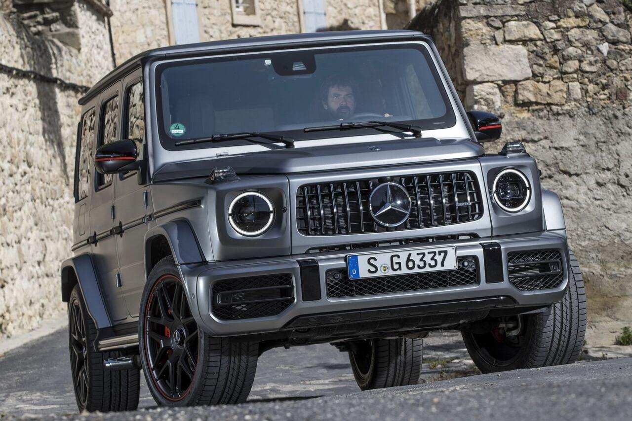 Mercedes Classe G America