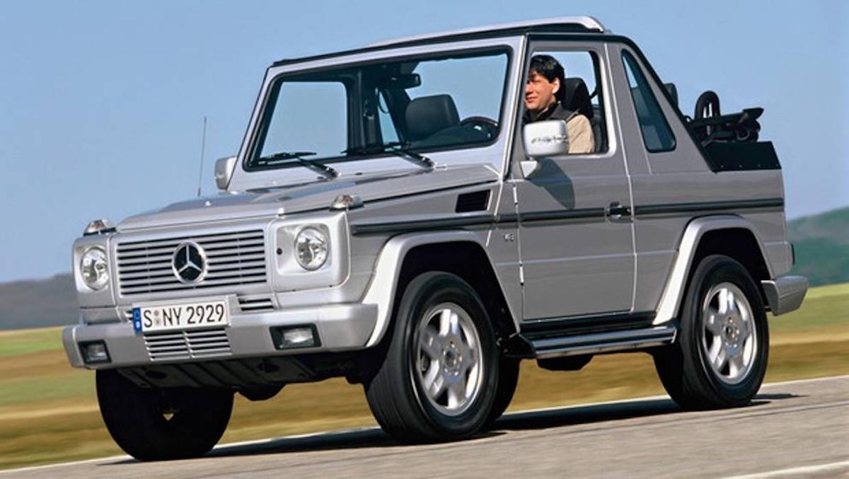 Mercedes Classe G Cabrio