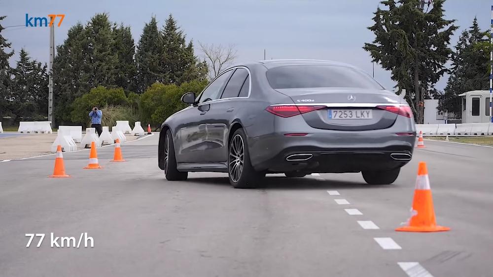 Mercedes Classe S 2021 test alce
