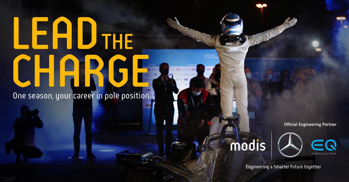 Mercedes-EQ Formula E persona talento