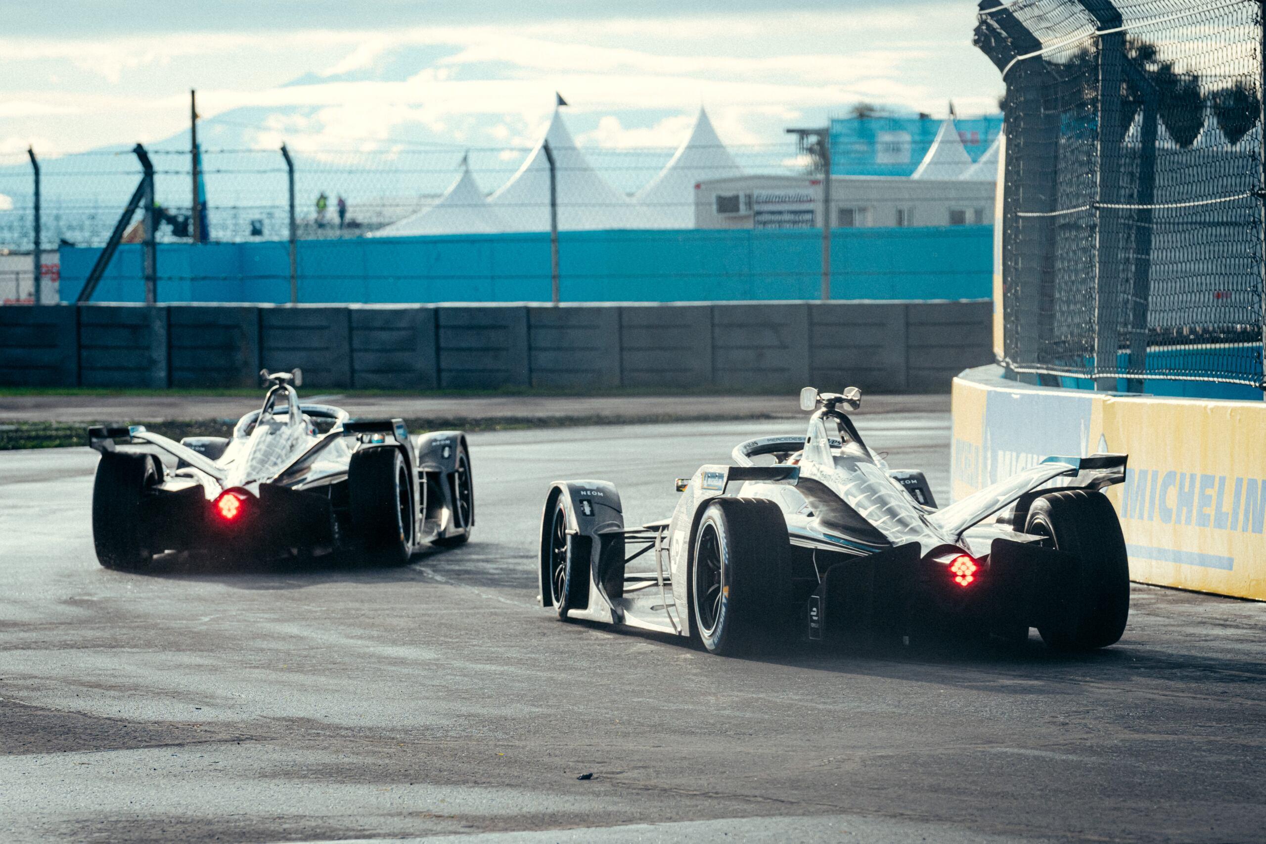 Mercedes-EQ Formula E primo round Puebla