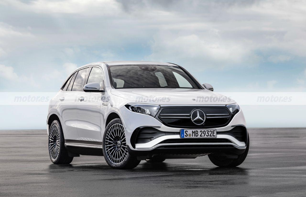 Mercedes EQE SUV render