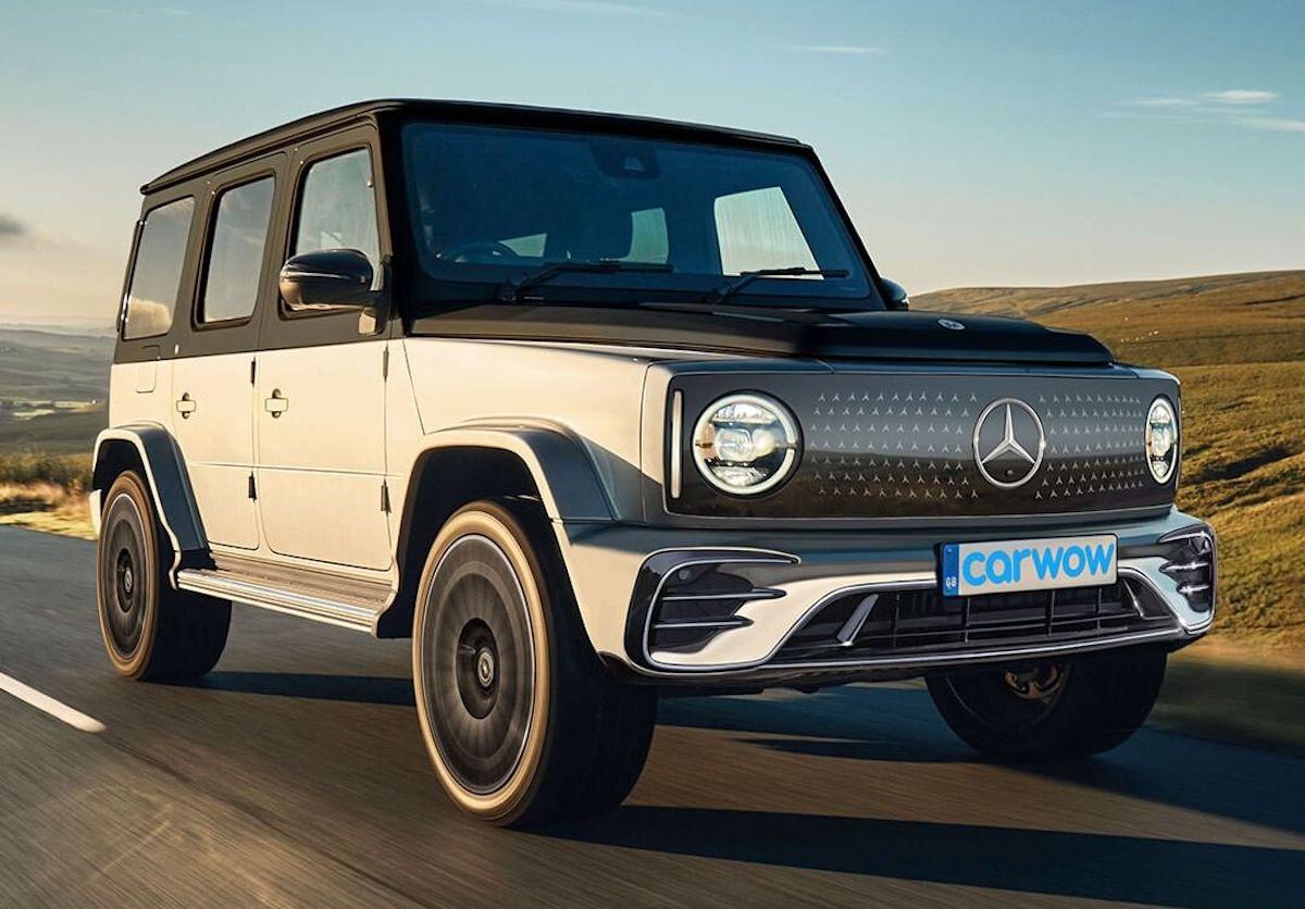 Mercedes EQG render Carwow
