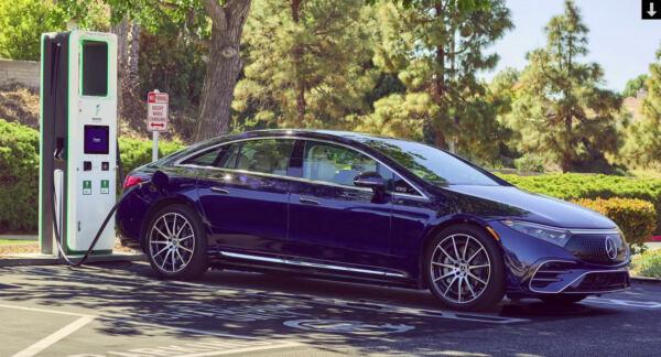 Mercedes EQS Electrify America