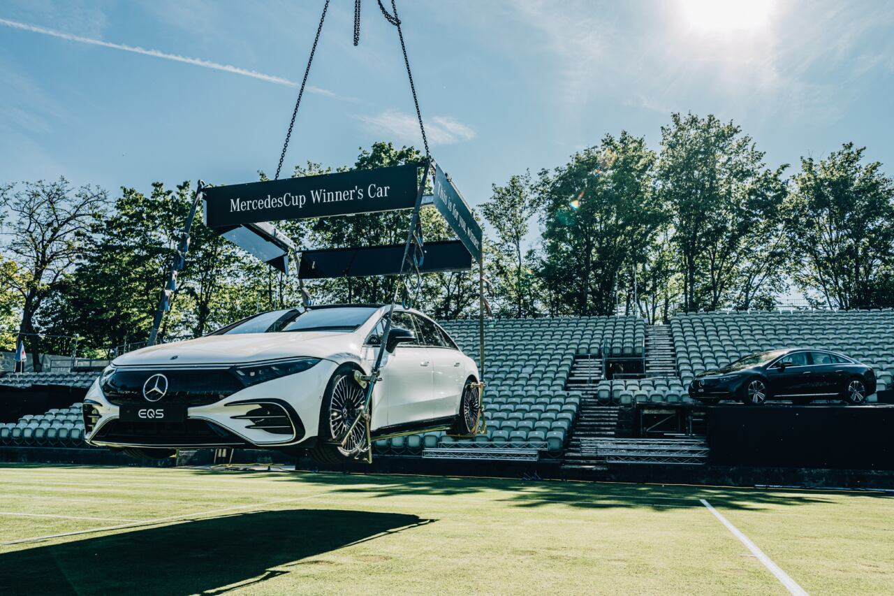 Mercedes EQS torneo MercedesCup