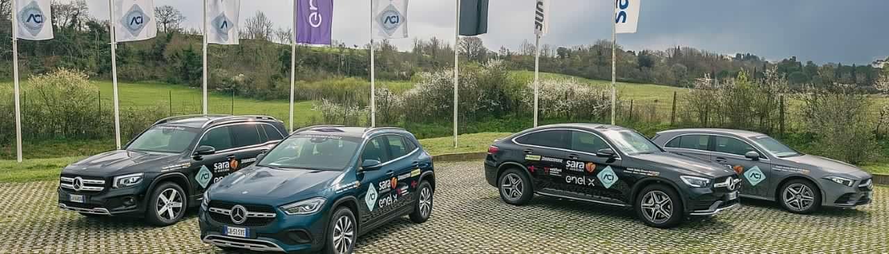 Mercedes partnership Centri di Guida Sicura ACI