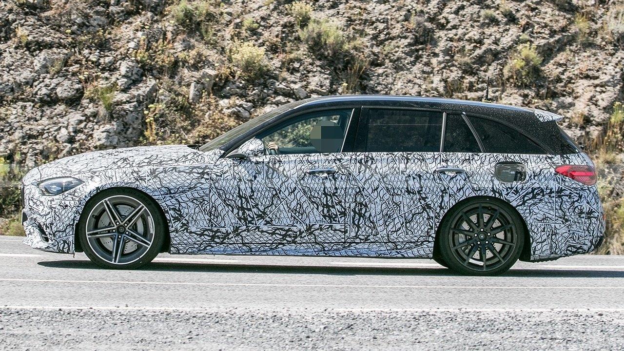 Nuova Mercedes-AMG C 63 Wagon ultime foto spia