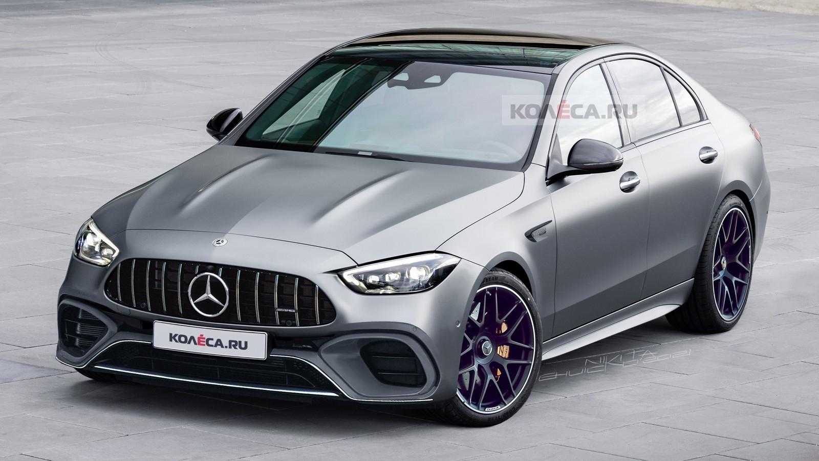 Nuova Mercedes-AMG C 63 render
