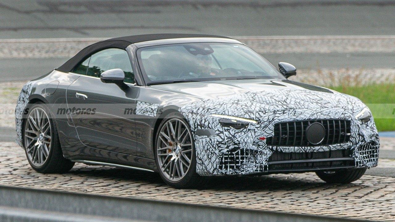 Nuova Mercedes-AMG SL ultimo prototipo foto spia