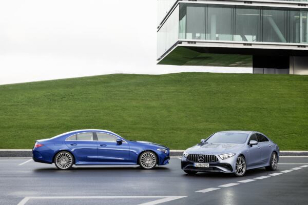 Nuova Mercedes CLS edizione limitata Europa