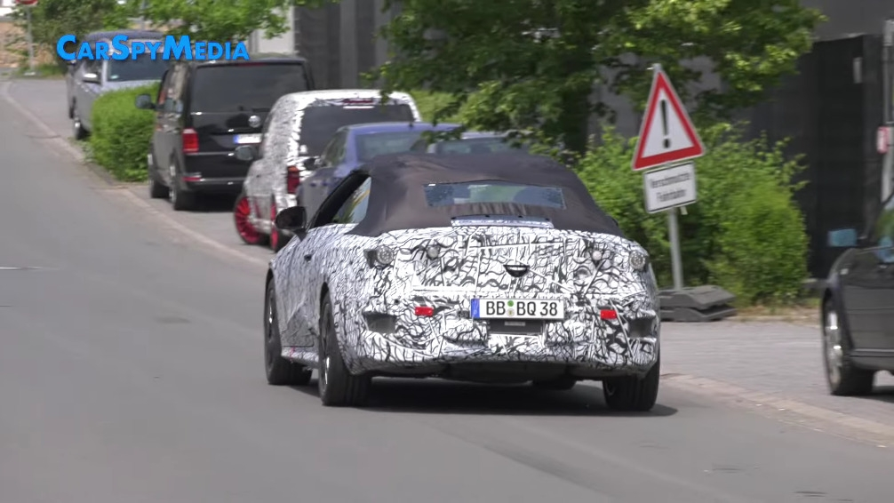 Nuova Mercedes Classe C Cabrio prototipo video