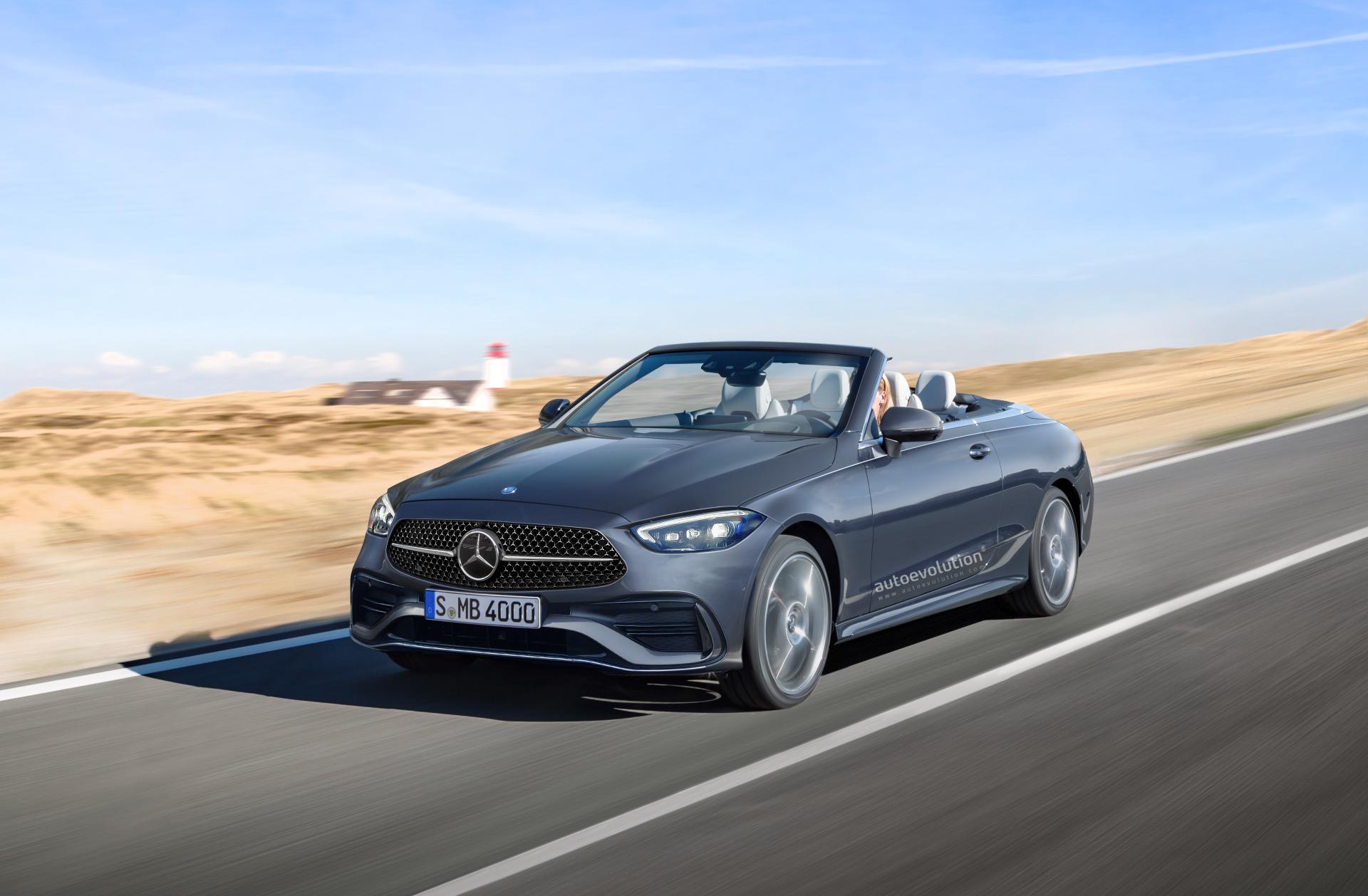 Nuova Mercedes Classe C Cabrio render