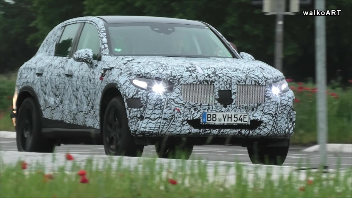 Nuovo Mercedes GLC foto spia Germania