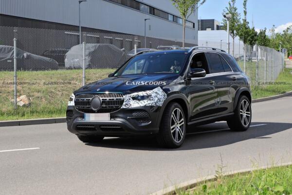 Nuovo Mercedes GLE prime foto