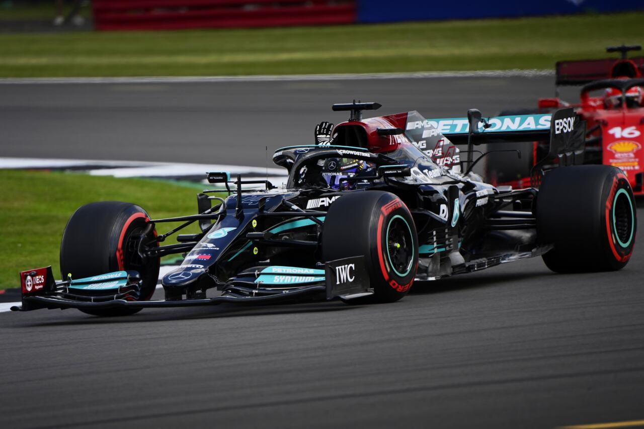 Lewis Hamilton qualifiche Silverstone