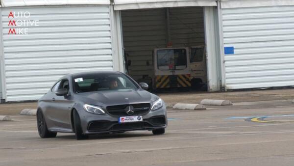 Mercedes-AMG C 63 S Coupé 913 CV drag race
