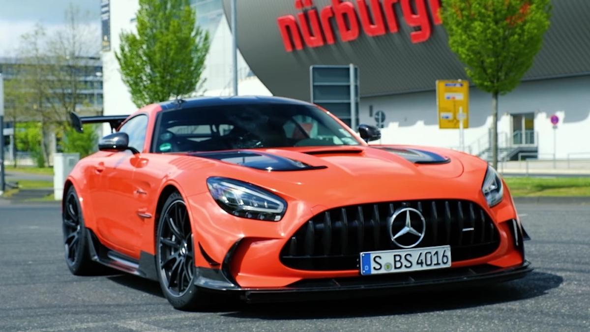 Mercedes-AMG GT Black Series Nurburgring SportAuto