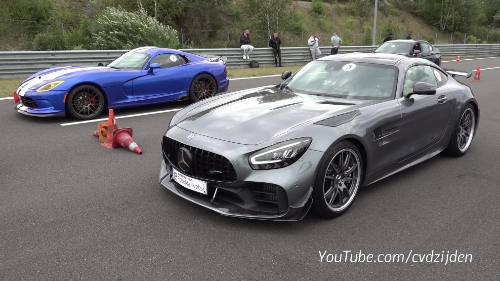 Mercedes-AMG GT R Pro vs auto sportive modificate