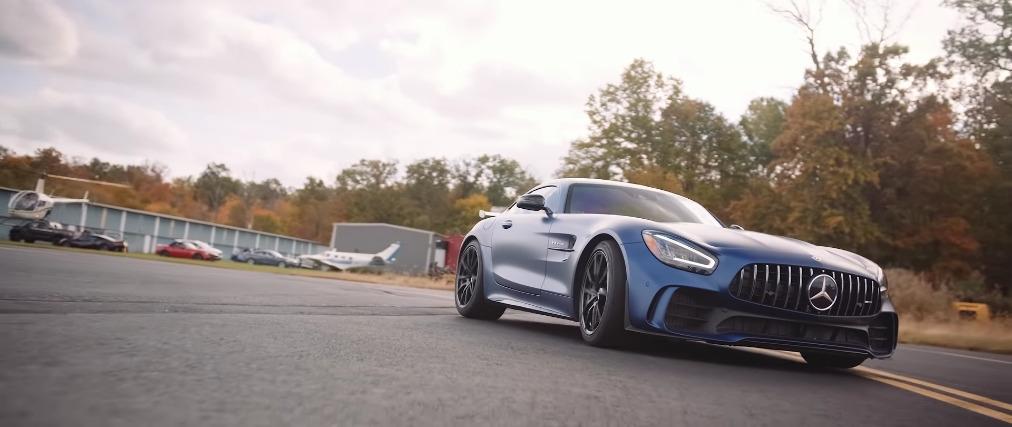 Mercedes-AMG GT R vs GT 63 S drag race