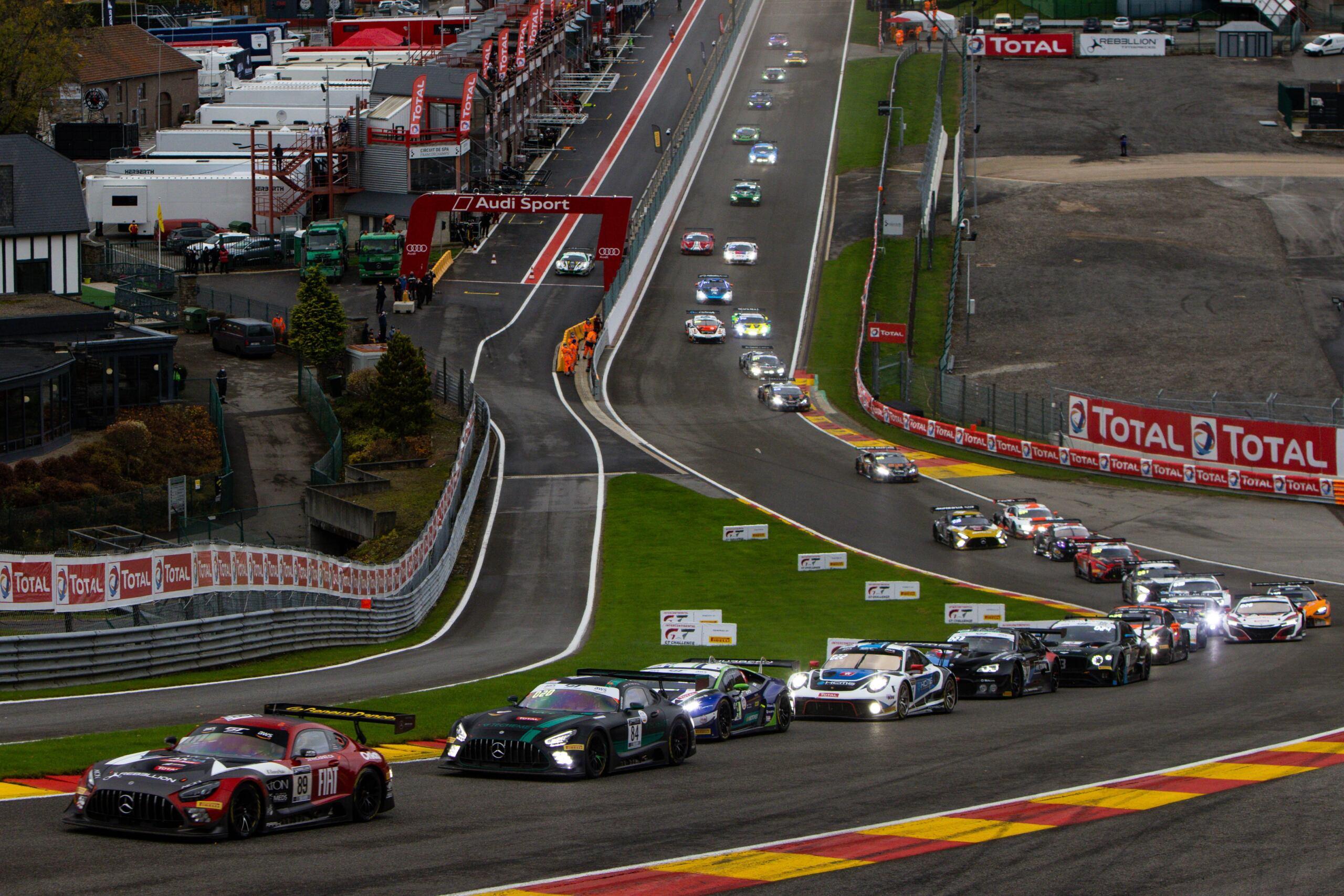 Mercedes-AMG Motorsport 50° anniversario 24 Ore Spa