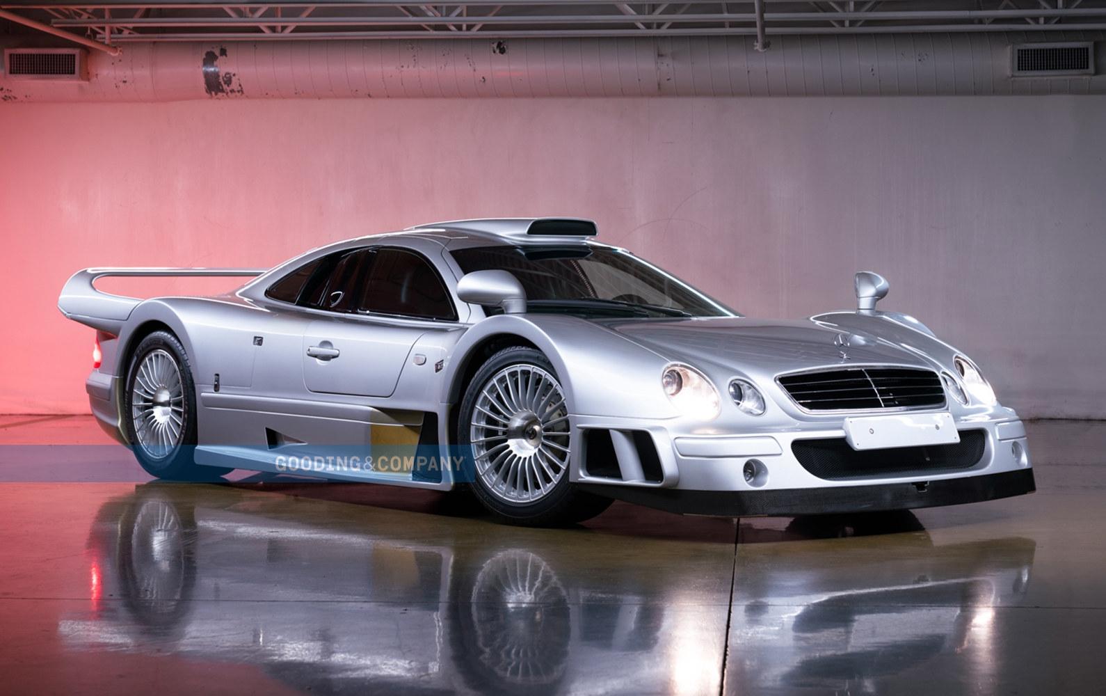 Mercedes-Benz CLK GTR 1998 asta