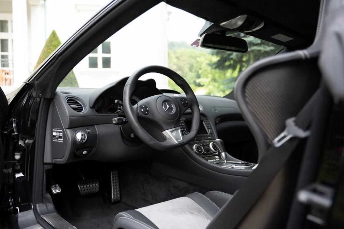 Mercedes-Benz SL 65 AMG Black Series Toto Wolff