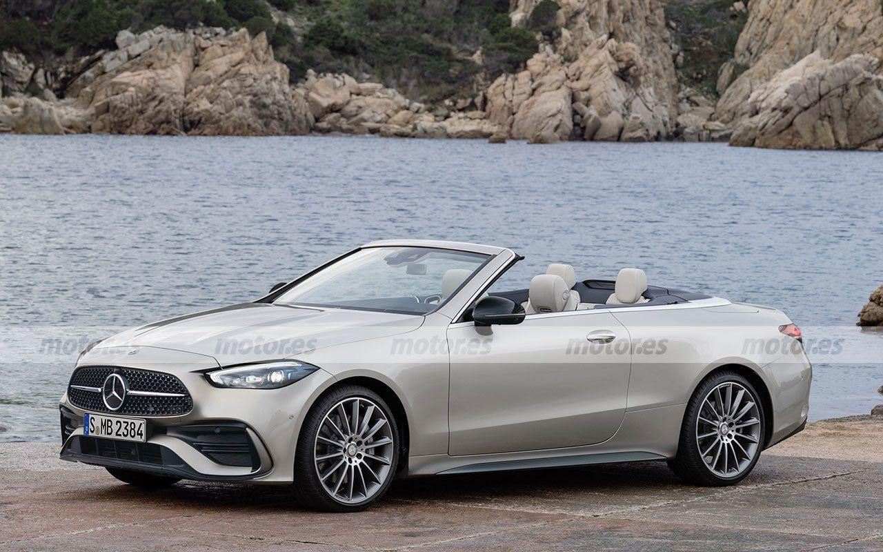 Mercedes CLE render