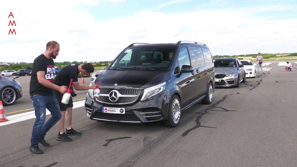 Mercedes Classe V GAD V8 biturbo