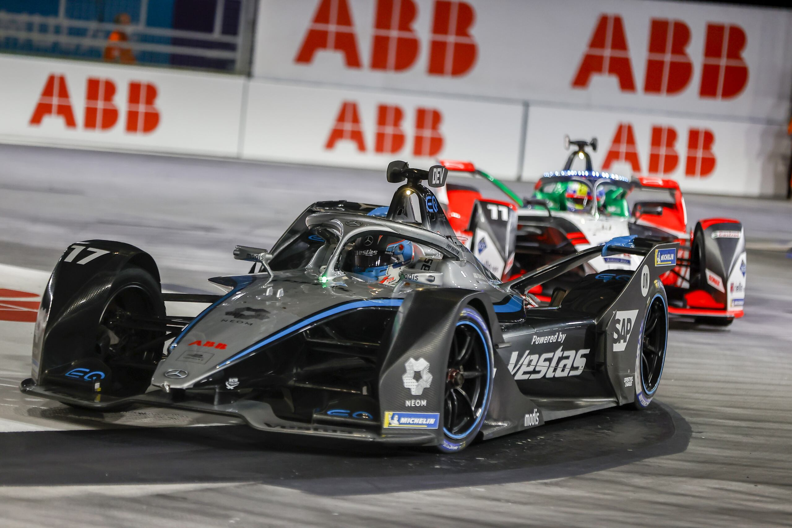 Mercedes-EQ Formula E Team sabato Londra