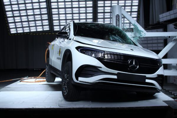 Mercedes EQA cinque stelle Euro NCAP