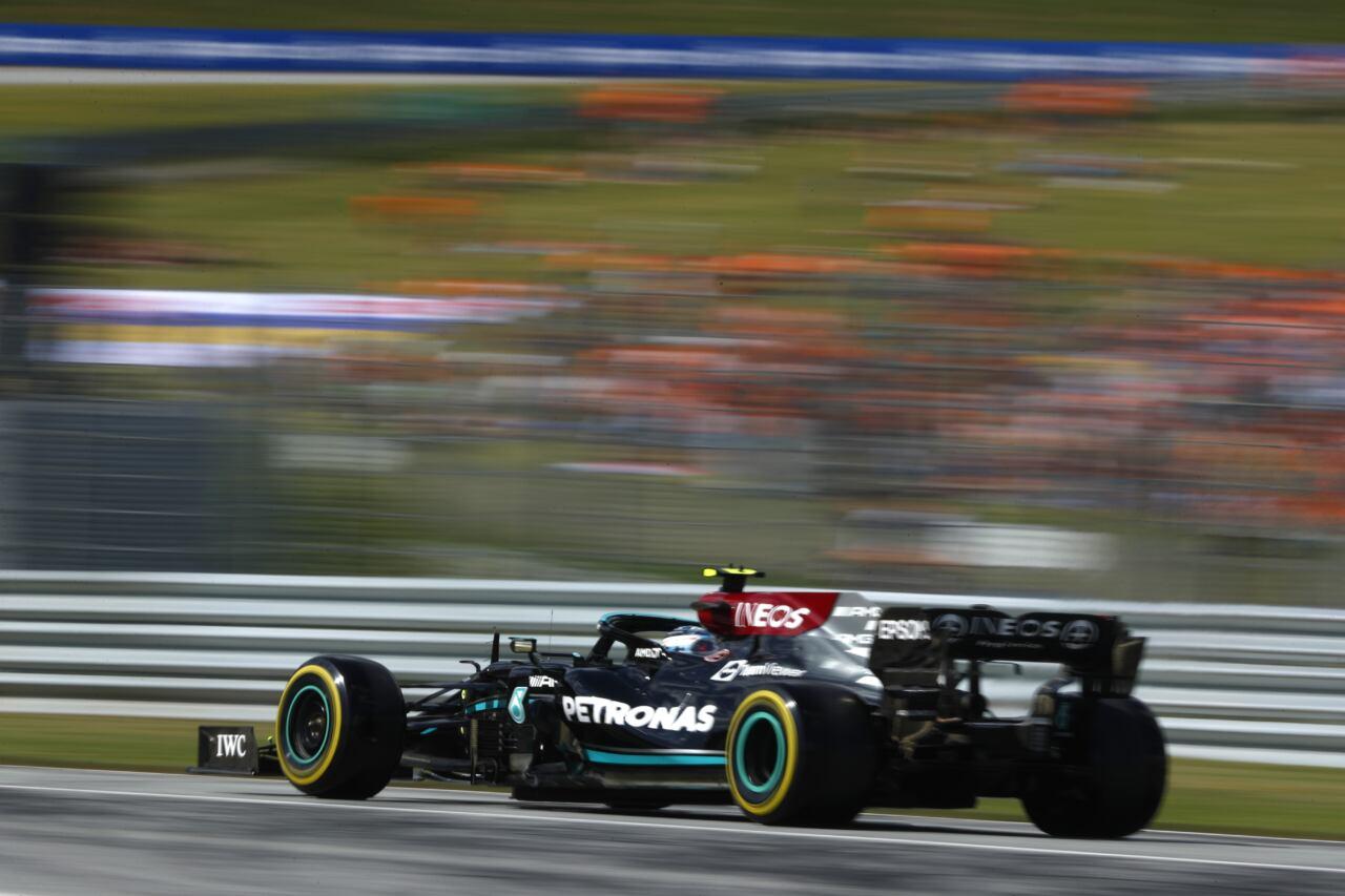 Mercedes F1 sabato Austria