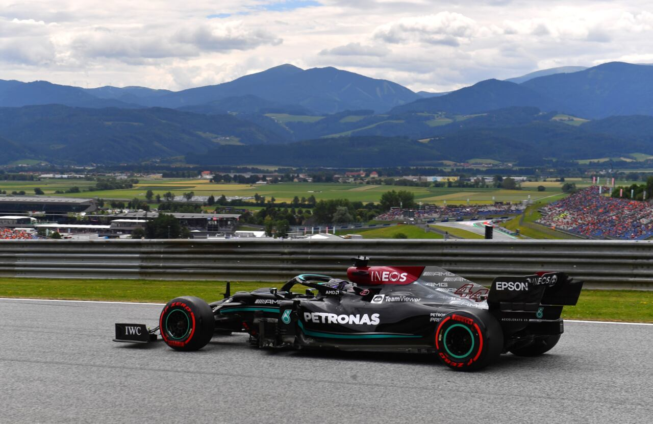 Mercedes F1 segnali positivi Austria