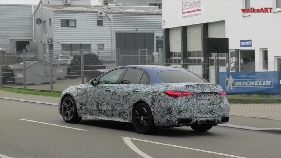 Nuova Mercedes-AMG C 63 dettagli ultimo prototipo