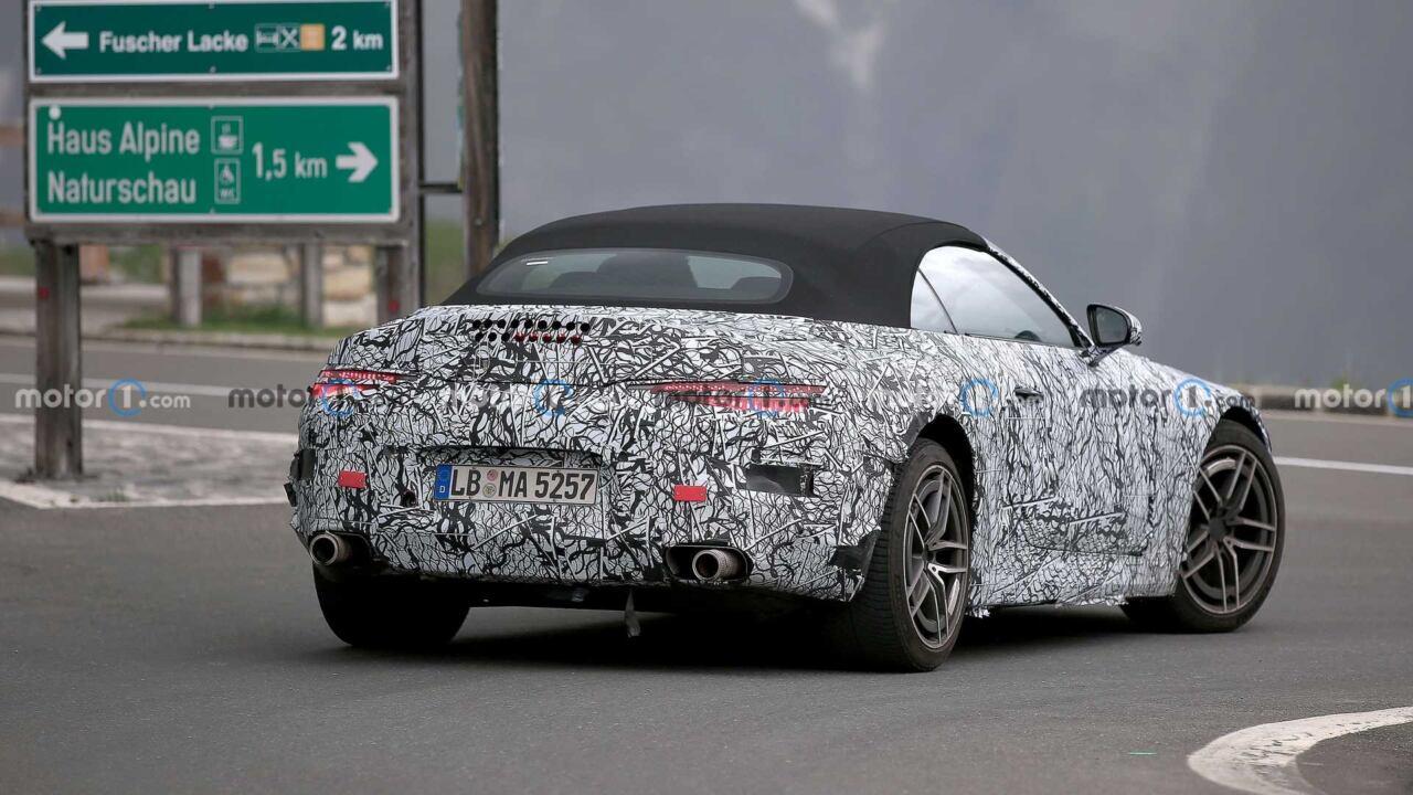 Nuova Mercedes-AMG SL altro avvistamento foto spia