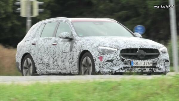 Nuova Mercedes Classe C All-Terrain prototipo leak