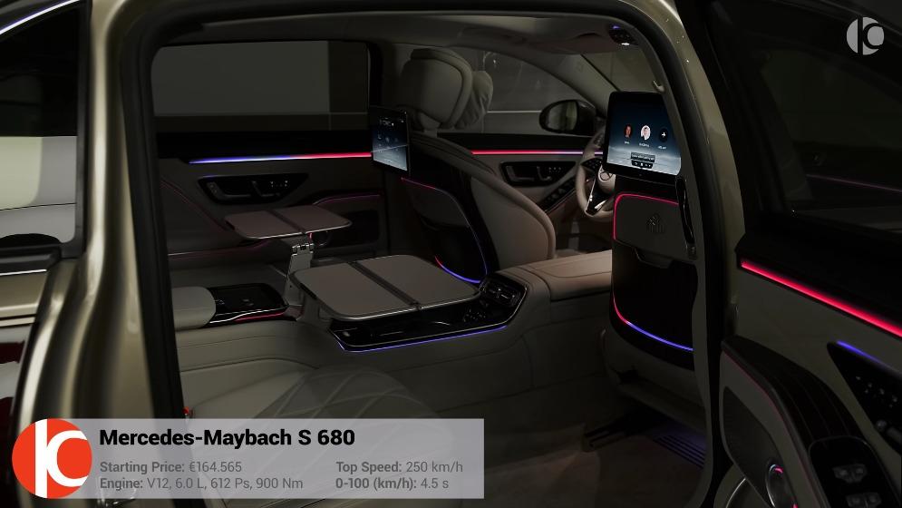 Nuova Mercedes -Maybach S 680 RoCars