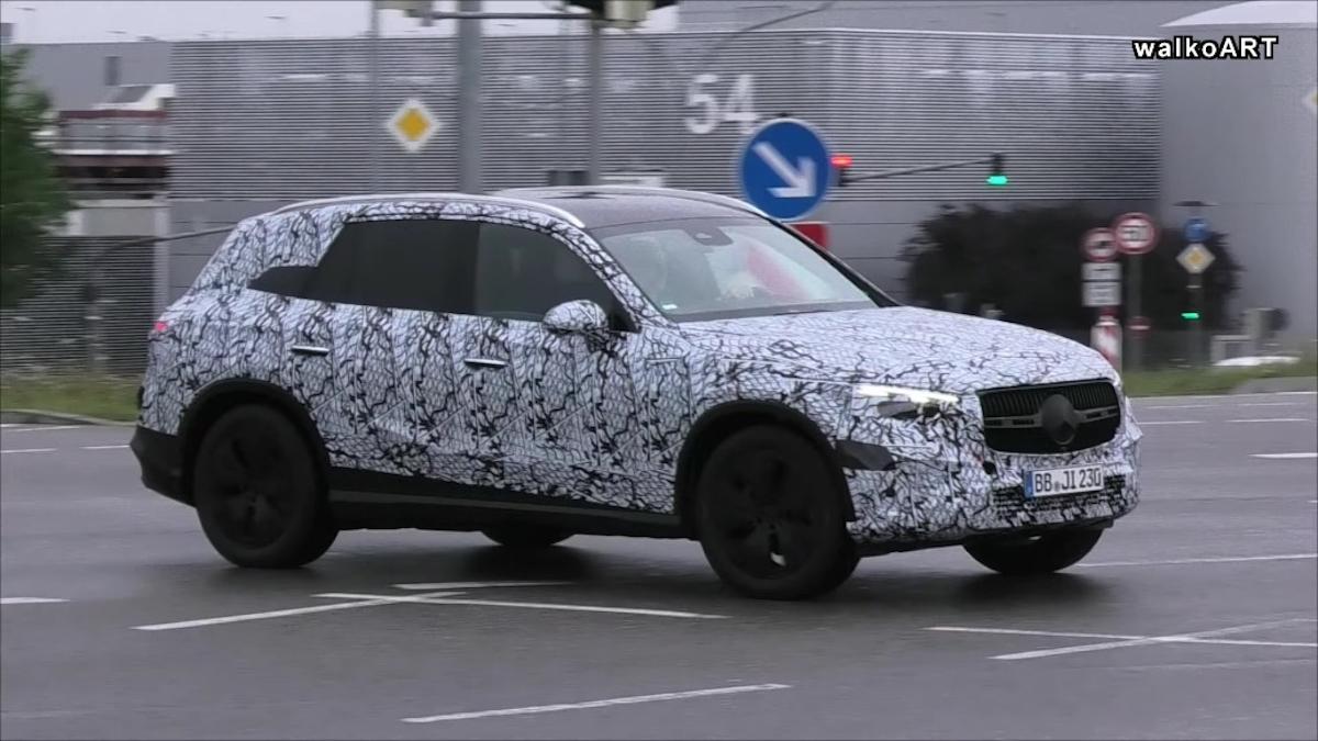 Nuovo Mercedes GLC X254 foto spia