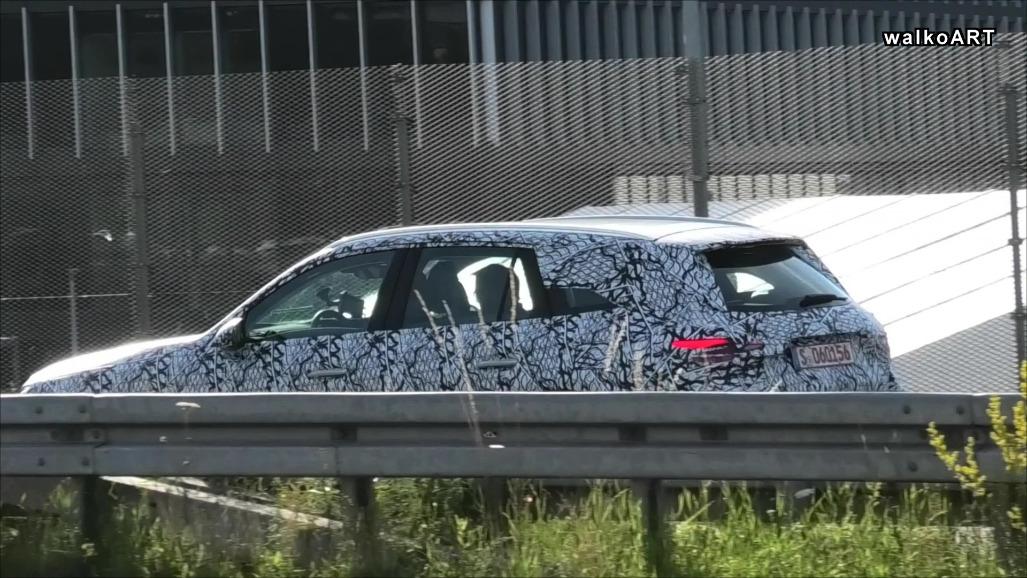 Nuovo Mercedes GLC ultimo prototipo