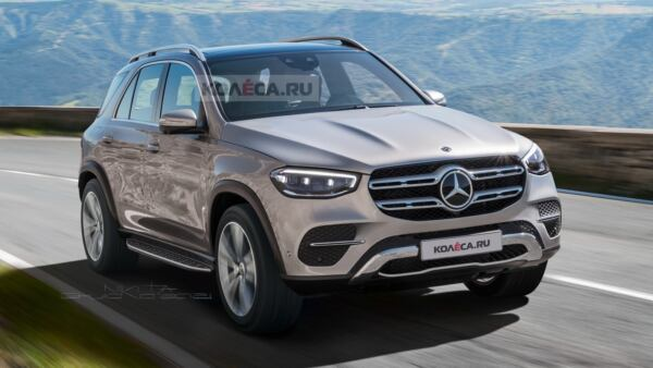 Nuovo Mercedes GLE render