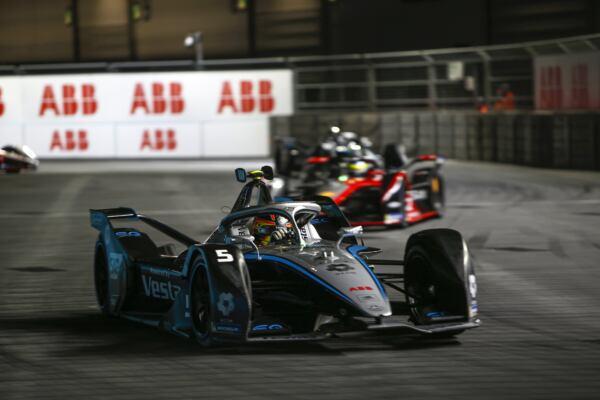 Nyck de Vries Mercedes-EQ Formula E Team Londra