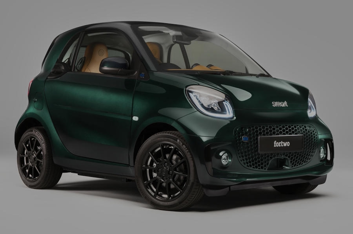 Smart EQ Fortwo Racing Green Edition