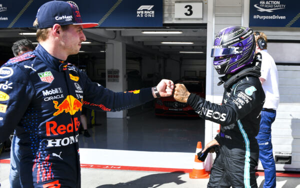 Lewis Hamilton Max Verstappen