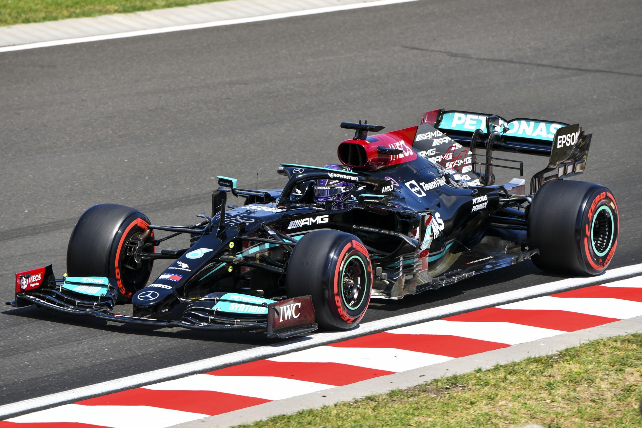 Lewis Hamilton pole position Ungheria
