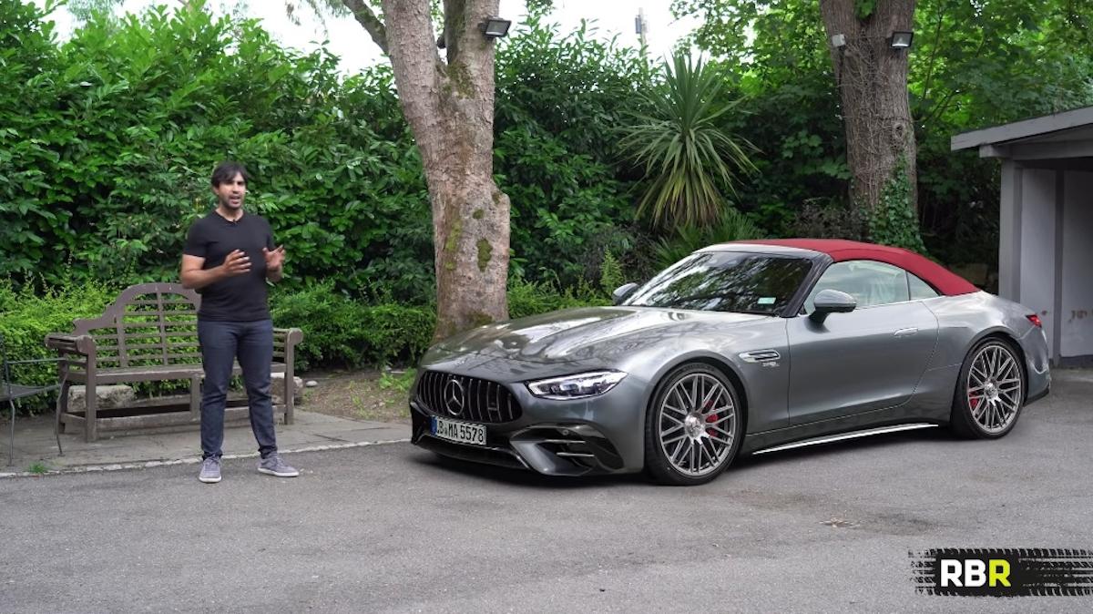 Mercedes-AMG SL 2022 nuovi render