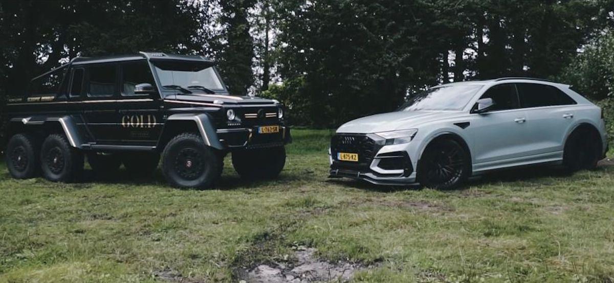 Mercedes-Benz G 63 AMG 6x6 vs Audi RSQ8-R ABT