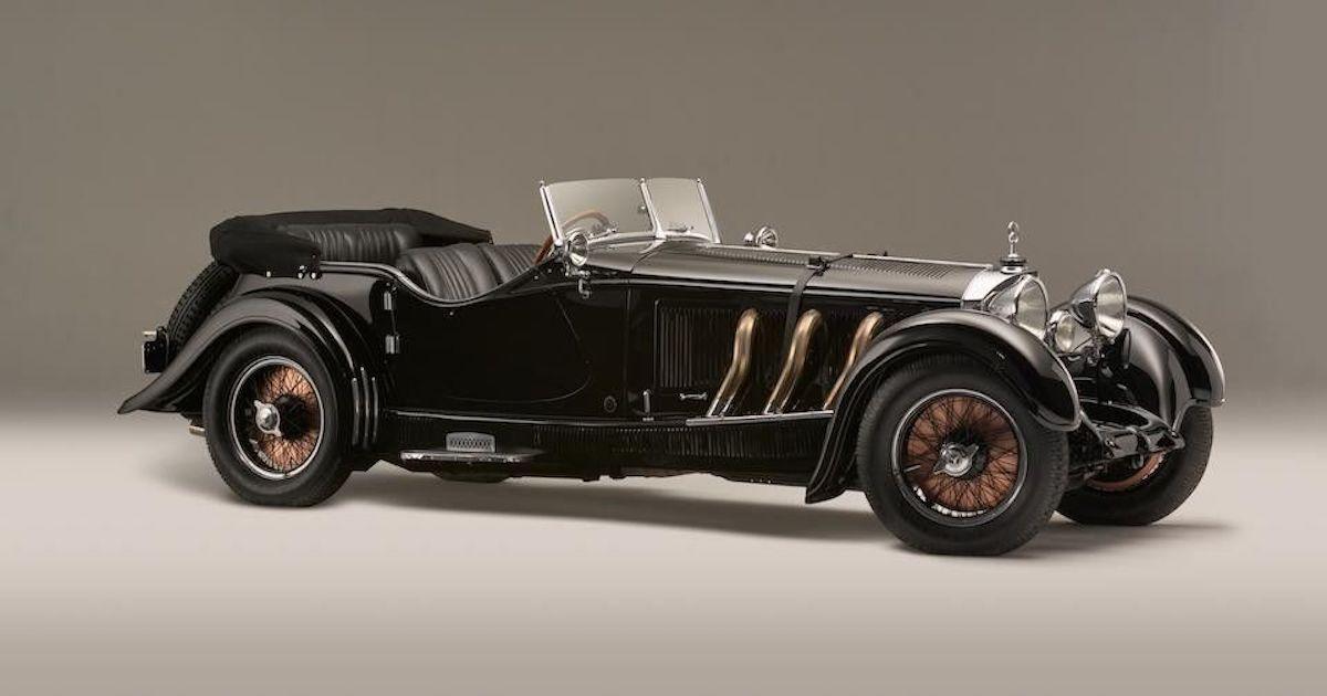 Mercedes-Benz S-Type Supercharged Tourer 1928 asta