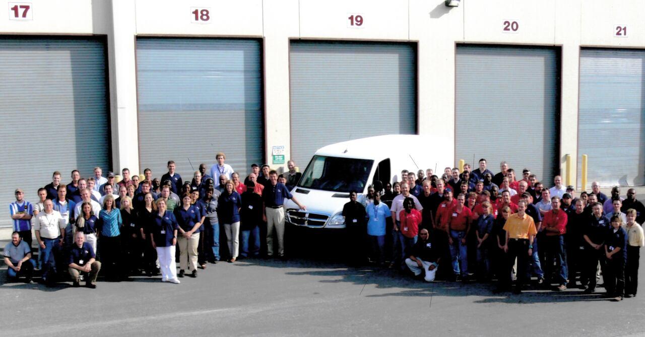 Mercedes-Benz Vans 15 anni Charleston