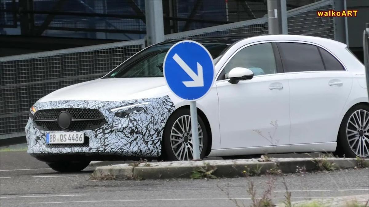 Mercedes Classe A 2023 altro avvistamento