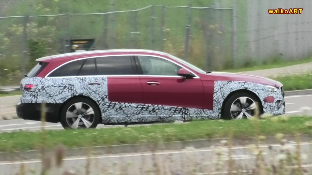 Mercedes Classe C All-Terrain nuovo prototipo